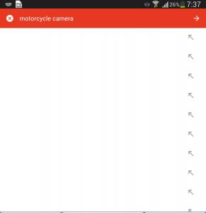 Aliexpress app search results