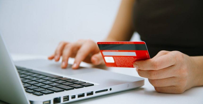 Paying with credit card online